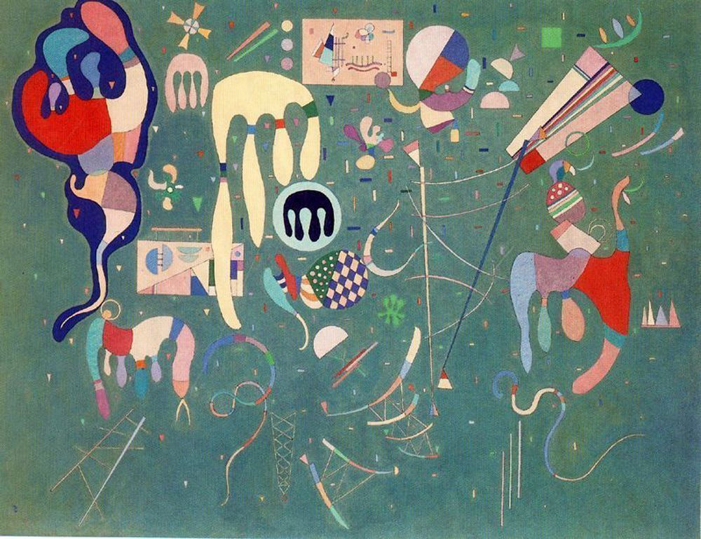 Abstract expressionism wassily kandinsky